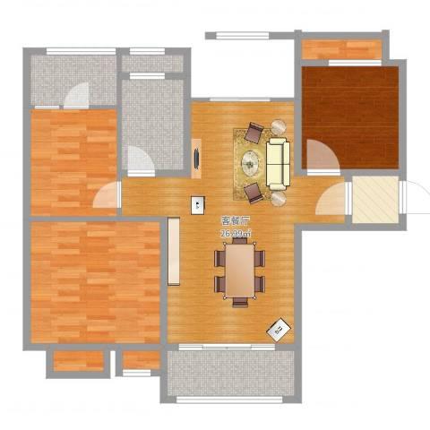 碧桂园欧洲城4室3厅2卫3厨92.00㎡户型图