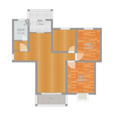 宿迁盛世嘉园3室1厅3卫1厨103.00㎡户型图