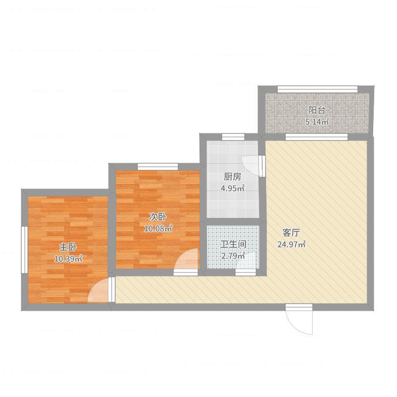 龙居装饰汇邦2-2-405室
