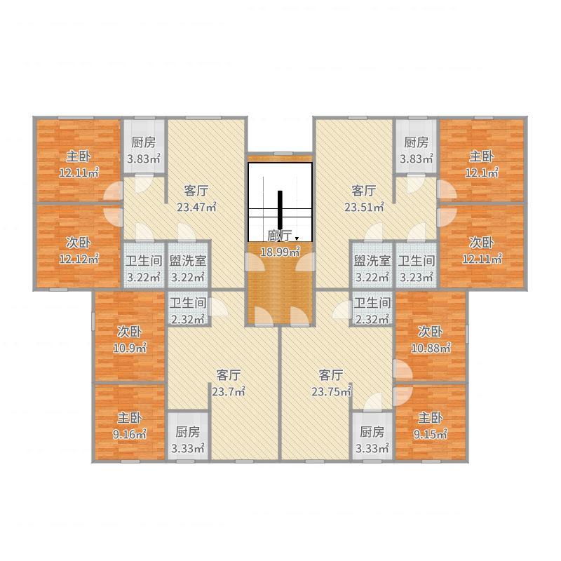 西宁_A区3号楼2-6层