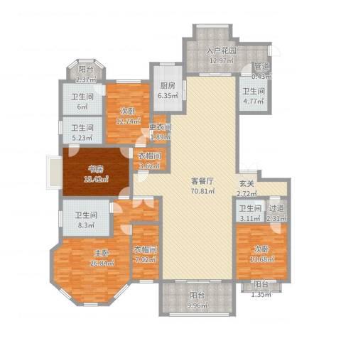 正商红河谷4室2厅5卫1厨269.00㎡户型图