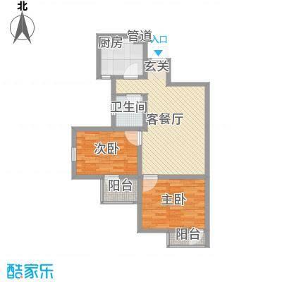 兴海苑80.00㎡兴海苑2室户型2室-副本