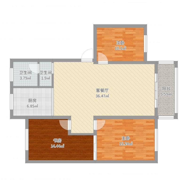 宣城_广信东郡12-1-502_2016-02-19-1309