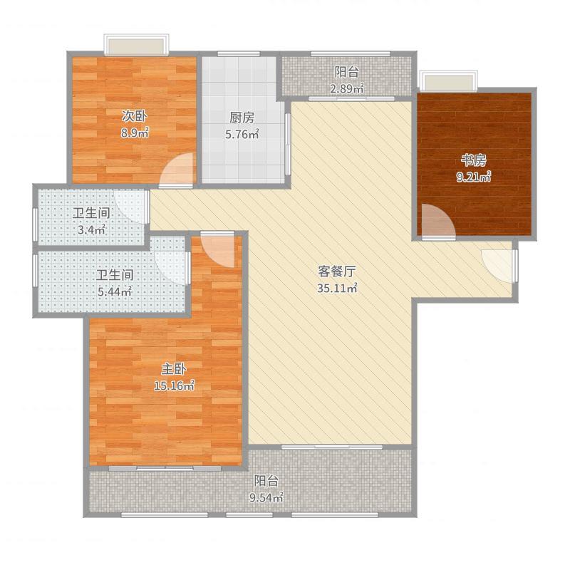 三室两厅两卫-贾