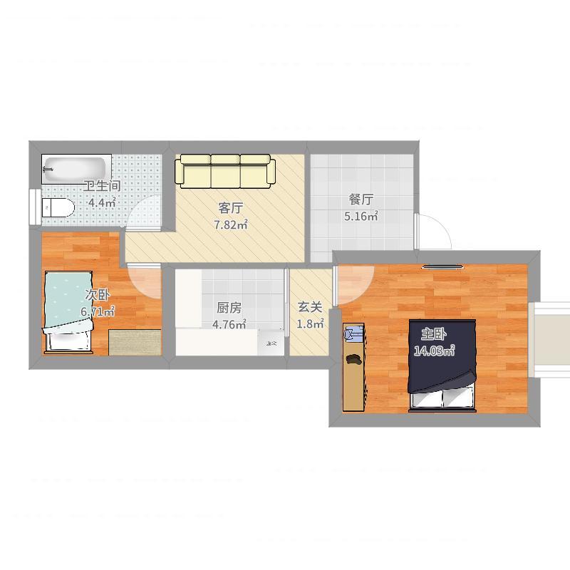 海馨苑42号101室