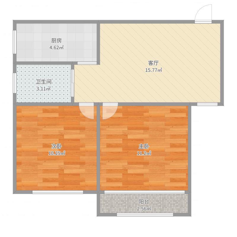 上海_崮山小区64平
