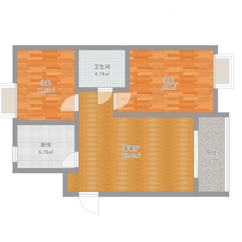 东岳书香苑 尺寸图
