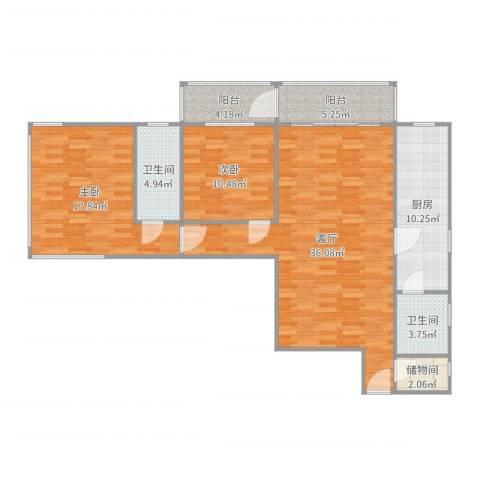 佳安公寓12室1厅2卫1厨119.00㎡户型图