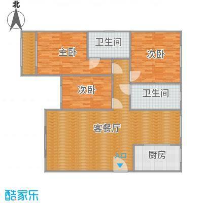 沪佳第一届设计大赛沪佳闸北店C户型(东方印象-吴仕杰)