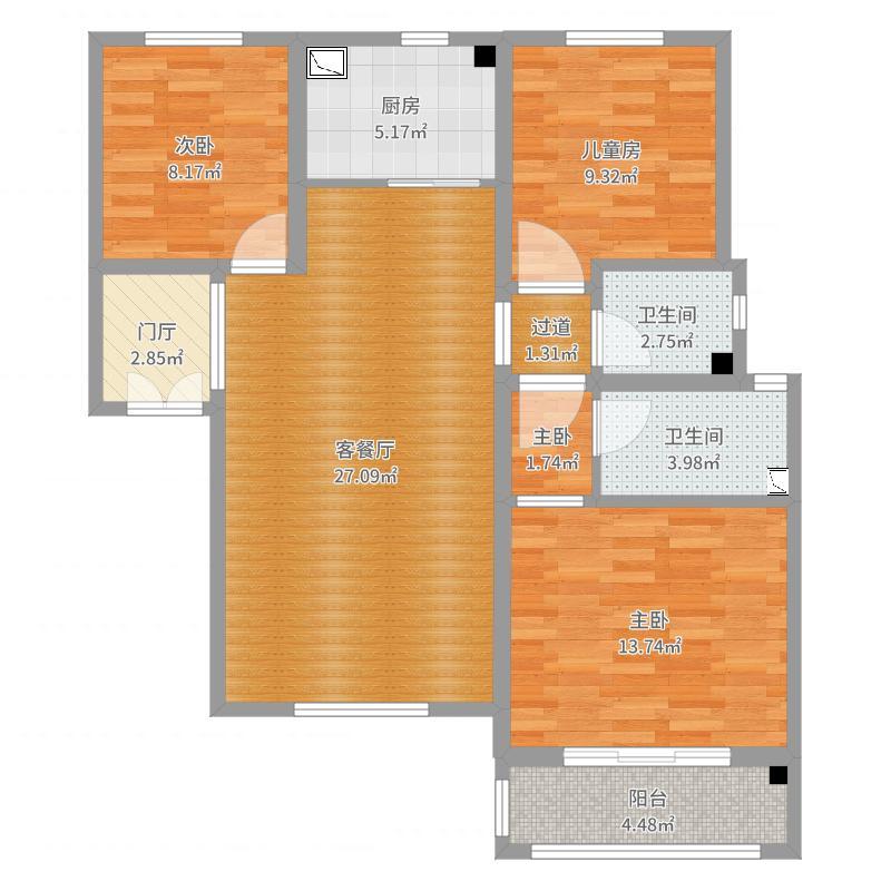 聚福苑 120   5-2-0502