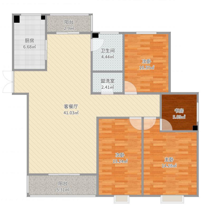 衡阳-金星・湘江苑G3-设计方案