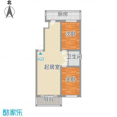 鸿基豪宅115.31㎡鸿基豪宅115.31㎡2室2厅1卫1厨户型2室2厅1卫1厨