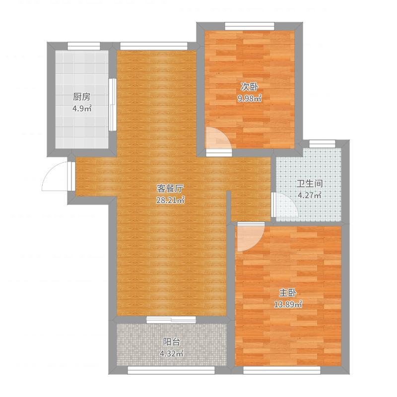 两房带阁楼