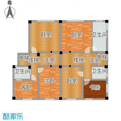 氧立方森林公馆230.00㎡联排别墅-1层B1/B2户型3室3卫