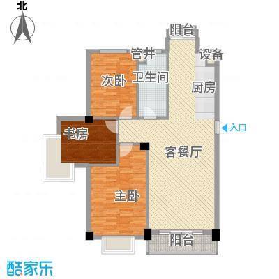 兰溪文苑111.53㎡兰溪文苑3室户型3室
