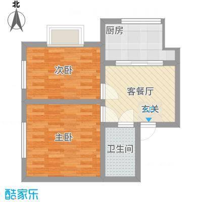 公务员小区二期63.34㎡公务员小区二期户型图户型图2室1厅1卫1厨户型2室1厅1卫1厨
