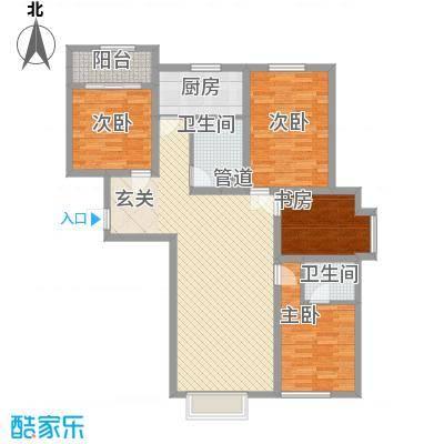 奈伦和兴园奈伦和兴园户型图花4室2厅14室户型4室