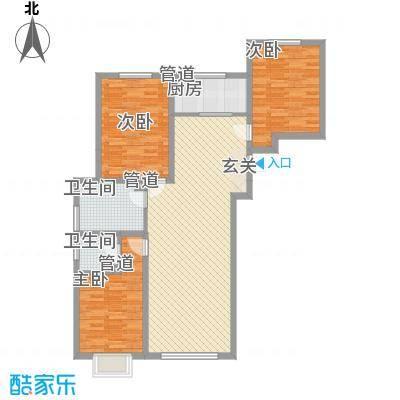 奈伦和兴园奈伦和兴园户型图花3室2厅13室户型3室