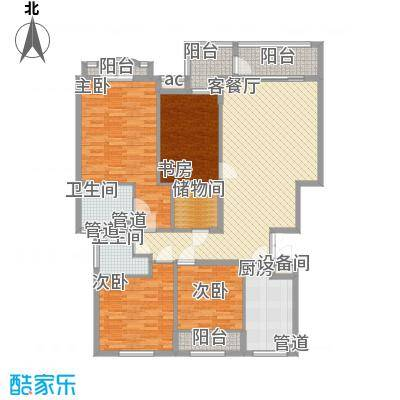 名都枫景146.00㎡名都枫景户型图户型图5室2厅2卫1厨户型5室2厅2卫1厨