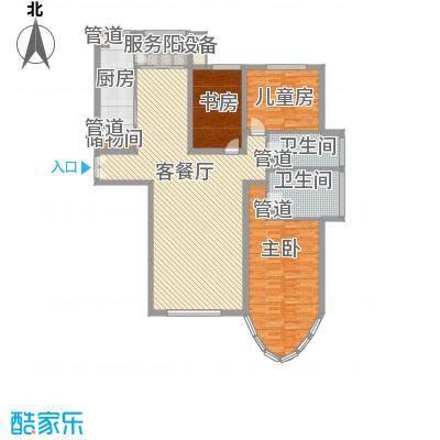 新开苑新开苑户型图三室两厅两卫53室2厅2卫1厨户型3室2厅2卫1厨