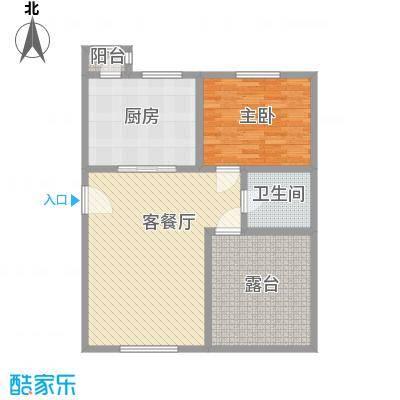 泰和尚都C顶层户型2室2厅2卫1厨
