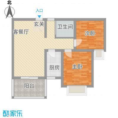 百商又一城77.00㎡百商又一城户型图B4户型2室2厅1卫1厨户型2室2厅1卫1厨