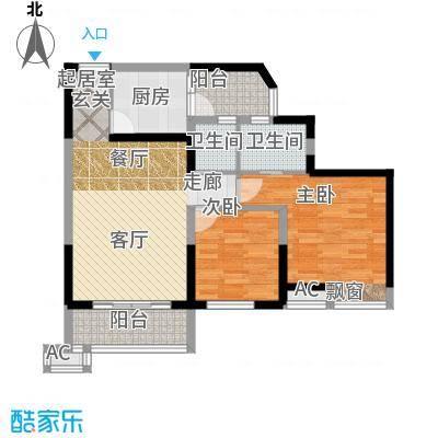 丰乐小区93.00㎡丰乐小区2室户型2室