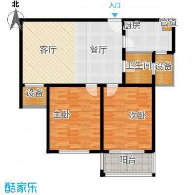 长江绿岛二期82.00㎡长江绿岛二期户型图2室户型图2室2厅1卫1厨户型2室2厅1卫1厨