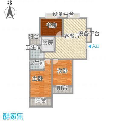 首席140.35㎡首席户型图3室2厅2卫1厨户型10室