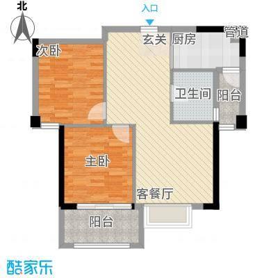 福湾新城夏雨苑A区96.00㎡福湾新城夏雨苑A区3室户型3室