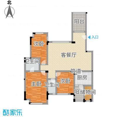 万科城市高尔夫花园别墅万科城市高尔夫花园别墅户型图B2-23室2厅2卫户型3室2厅2卫