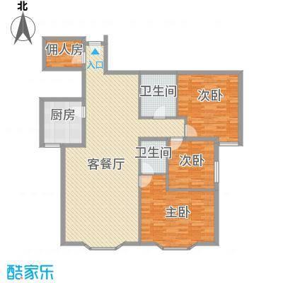 远东公寓164.25㎡远东公寓户型图4室2厅3卫户型10室