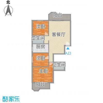 远东公寓159.18㎡远东公寓户型图3室2厅2卫户型10室