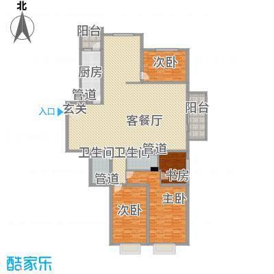 翠庭居92.00㎡翠庭居3室户型3室