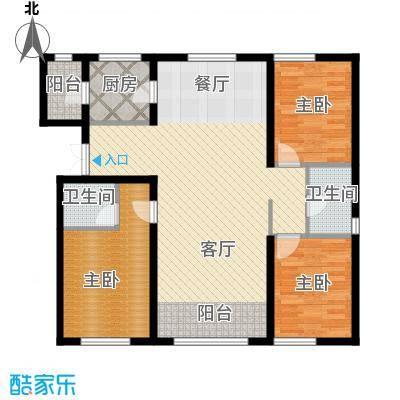 金昌国际134.18㎡G户型3室2厅2卫