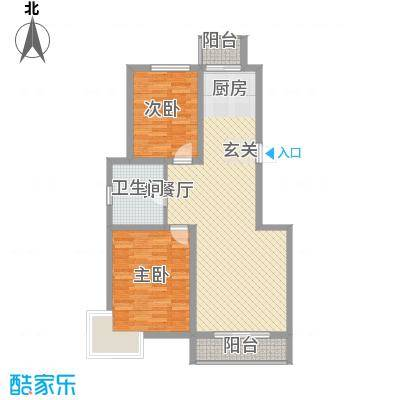 正大江南水乡101.83㎡正大江南水乡户型图22室2厅1卫户型2室2厅1卫