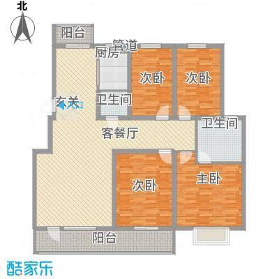 正大江南水乡177.00㎡正大江南水乡户型图64室2厅2卫户型4室2厅2卫