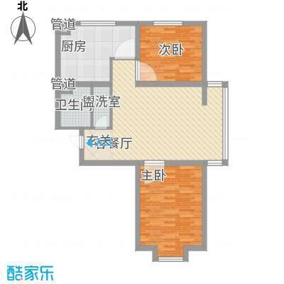 郦都花园76.28㎡郦都花园户型图2室1厅1卫户型10室