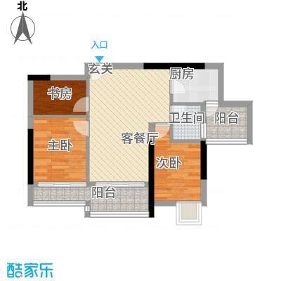 狮山丽晶70.00㎡狮山丽晶户型图户型图3室2厅1卫1厨户型3室2厅1卫1厨