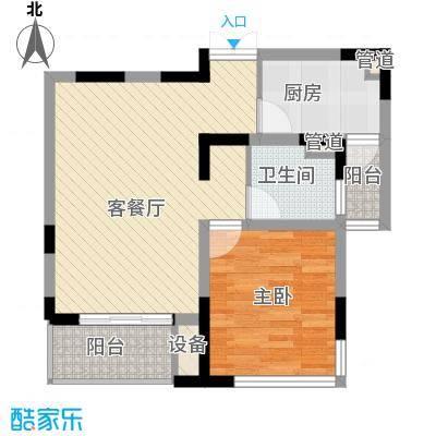 狮山丽晶70.00㎡狮山丽晶户型图户型图1室2厅1卫1厨户型1室2厅1卫1厨