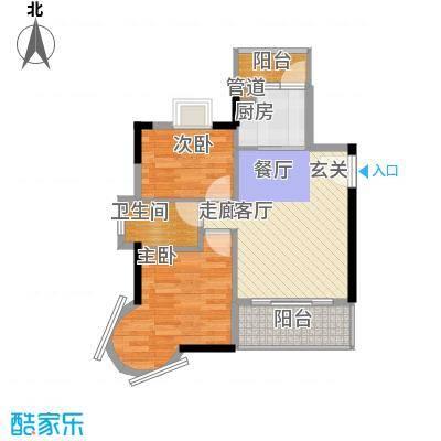 凯旋国际62.82㎡凯旋国际户型图世纪HOTEL2室2厅1卫1厨户型2室2厅1卫1厨