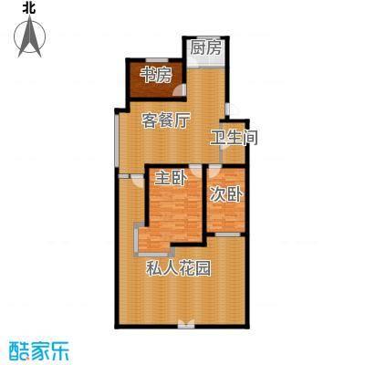 瑞赛居圣苑105.00㎡一层14#户型3室1厅1卫1厨