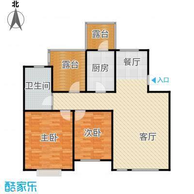 瑞赛居圣苑110.00㎡5层10#户型2室1厅1卫1厨