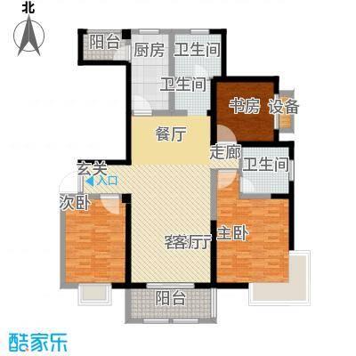 东宝康园128.00㎡G4户型3室2厅2卫
