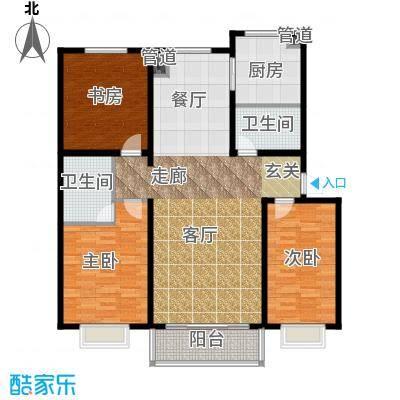 荣江兴旺领地119.73㎡荣江兴旺领地119.73㎡3室2厅2卫户型3室2厅2卫