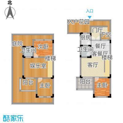 汇祥云深处55.00㎡汇祥云深处一组团A一层户型3室3厅2卫1厨 55.00㎡户型3室3厅2卫