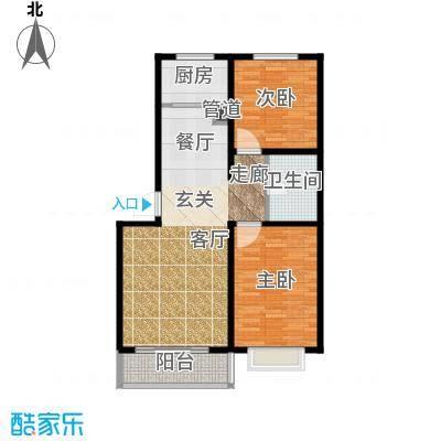 荣江兴旺领地81.85㎡2室2厅1卫