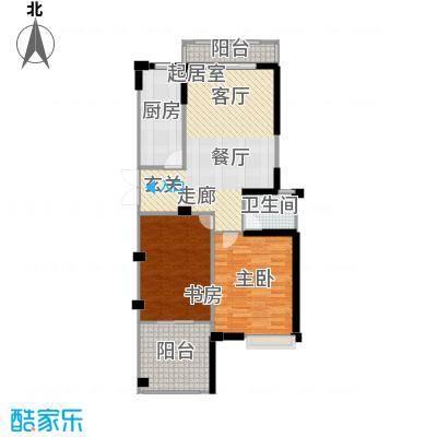 府西花园105.94㎡府西花园户型图(3/17张)户型10室