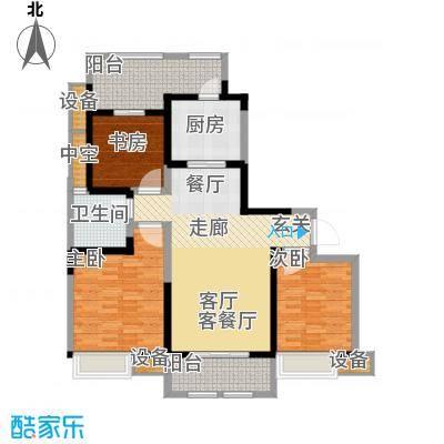 东宝康园115.00㎡G3户型3室2厅1卫