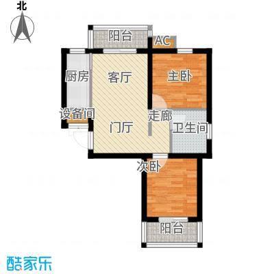 香格里拉・上河湾71.15㎡2室1厅1卫